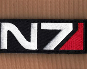 Mass Effect N7 Logo Embroidered Patch - GAME63