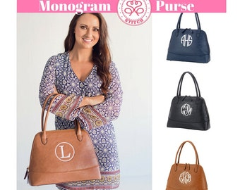 Monogram Purse, monogram handbag, Personalized Handbag, Personalized Purse, Shoulder bag