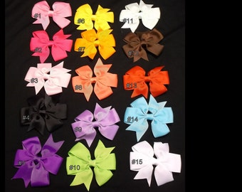 New 2 inch Hair Bow's pick your color