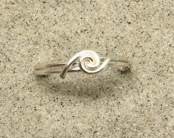 Silver Swell Ring