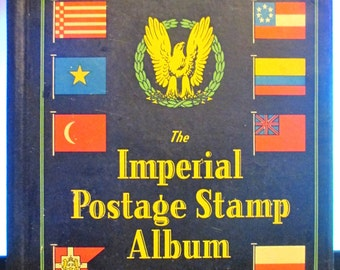 Imperial Postage Stamp Album, 1934, Juvenile Edition. Good Cond.