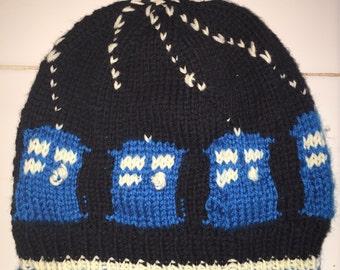 Rachel's Tardis Hat