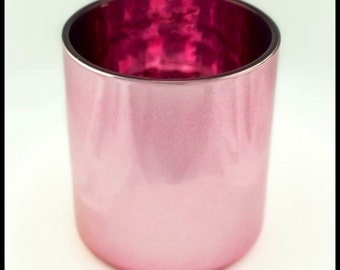 Large Urban Flare Candle: in Pink Vogue Container.