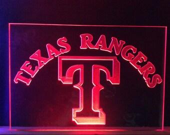 Texas Ranger LED Sign