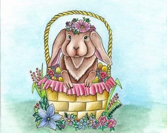 Spring Bunny Print