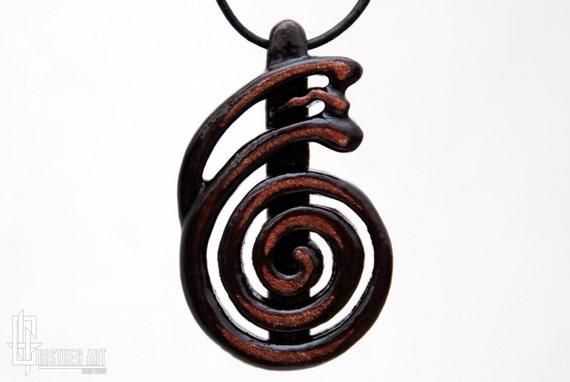 Reiki Jewelry Tibetan Dai Ko Myo Symbol Necklace By