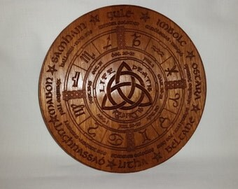 Wiccan / Pagan Wheel of the Year Calendar