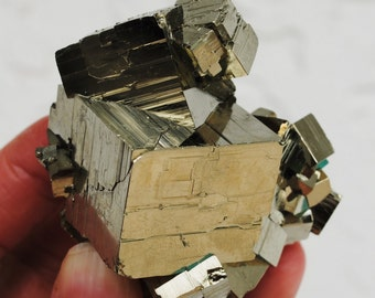 Pyrite Cube Cluster PCL3