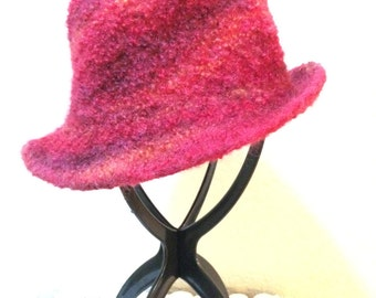 Red Felted Hat  FREE Shipping!