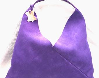 Triangle Bag 100% Leather