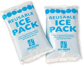 2 Reusable Ice Packs for Warm and Hot Weather- Add On ONLY!