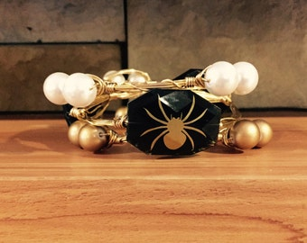 Concord Spiders Bangle Stack