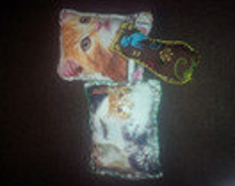 3 Valerian cat pillow square small/cat toy