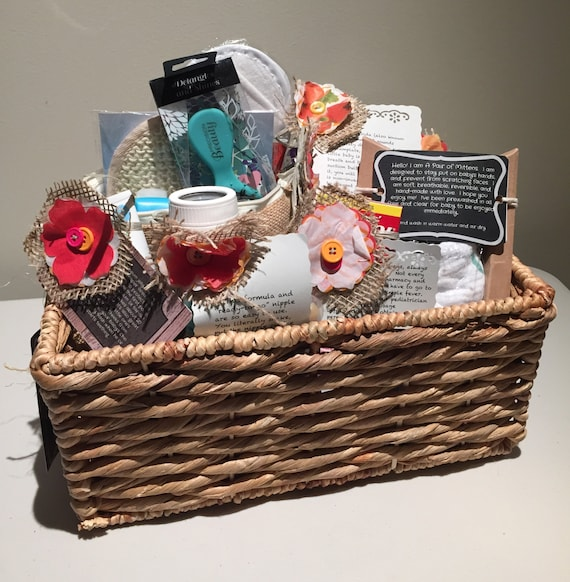 Baby Gift Basket Etsy : Get ready new baby gift basket by newbiebasket on etsy
