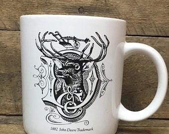 Go With the Green John Deere Service 1882 Trademark Mug made in Korea