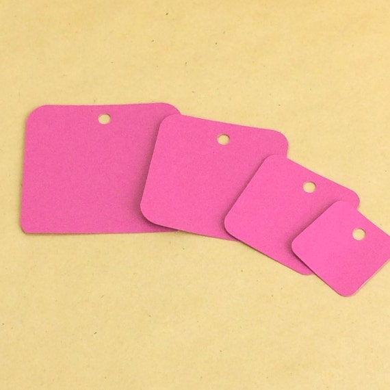 50 square tags, hang tags, gift tags, price tags, blank tags, product tags, seller supplies,gift tag