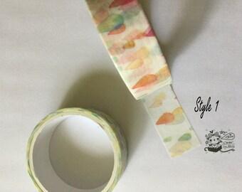 Washi tape, masking tape, decorative tape, adhesive tape, scrapbooking