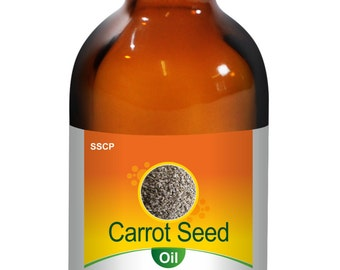 Carrot Seed Oil -Pure & Natural - 15 ml to 250 ml