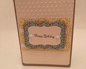 Hand Made Birthday Card