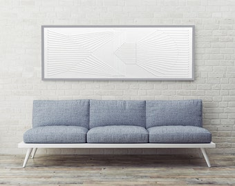 Art Deco by SiFabricate, Stunning large geometric Art Deco inspired artwork