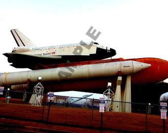 Space Shuttle photograph