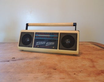 this boombox is very small