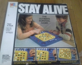 vintage stay alive board game 1978