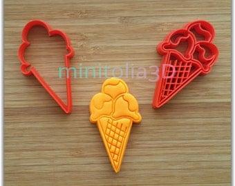 Ice Cream Cookie Cutter