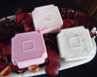 Pink and White lavender Soap