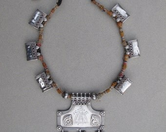 PABI Silver collection necklace
