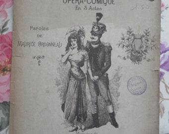 The acrobats - waltz - It's love - 1899