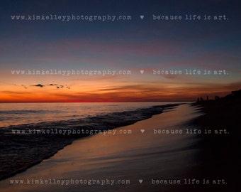 Sunset print 30A Florida Beach - multiple sizes available