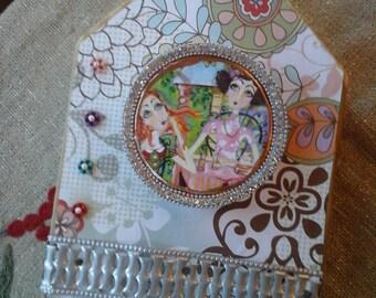 Art Piece Necklace/Jewlry  Holder