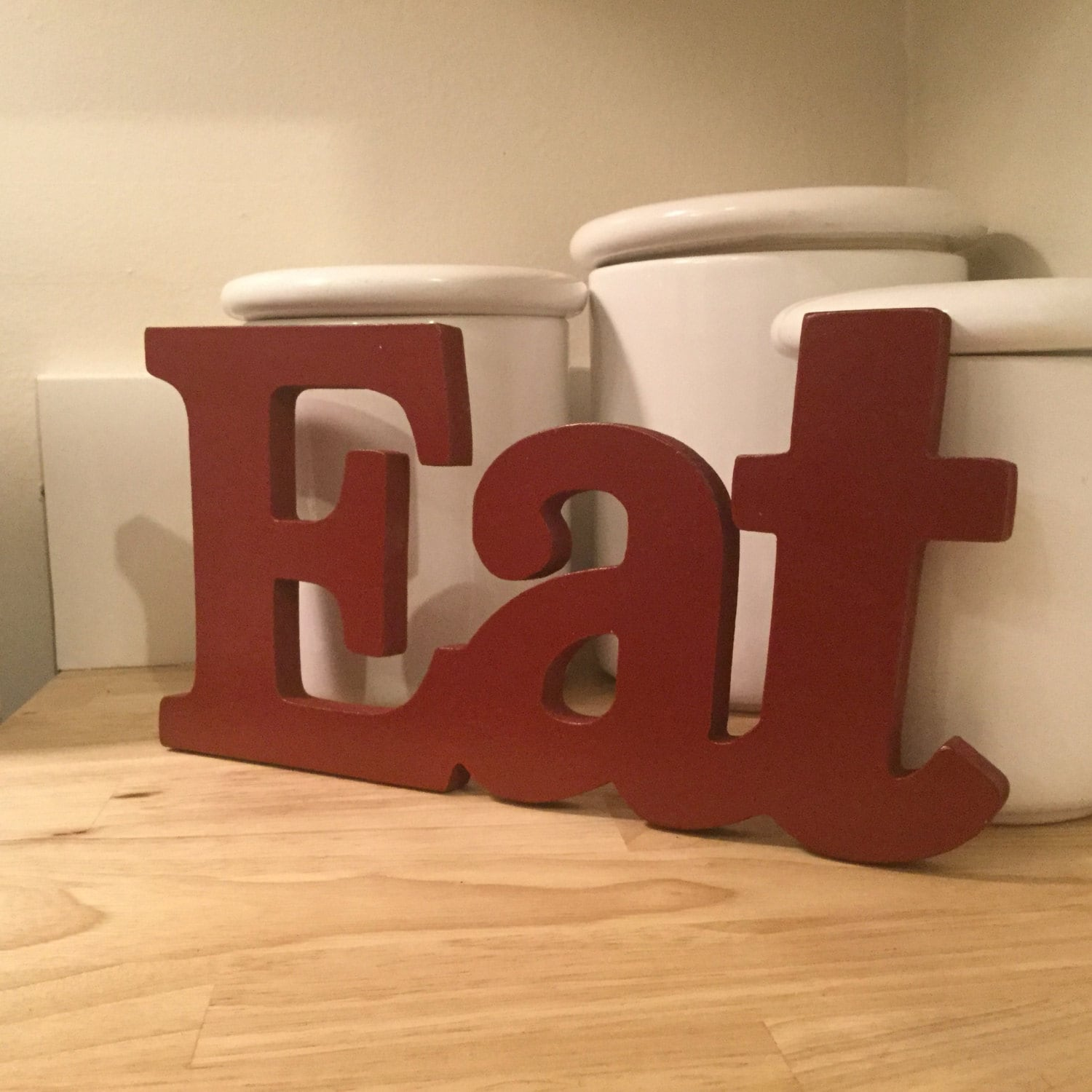 eat wood letters free standing wood letters unfinished wood letters kitchen decor eat word art word wall decor eat wooden word