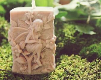 Fairy garden Candle