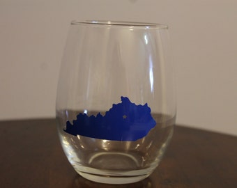 States Stemless Wine Glass