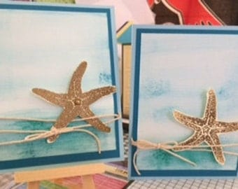 Starfish Greeting Cards (2)