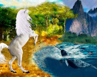Unicorn & Narwhal