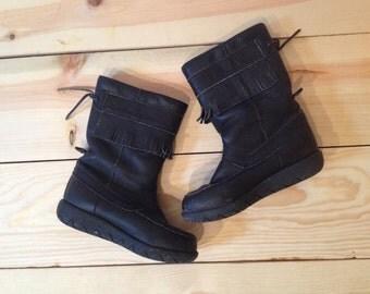 Vintage Moccasin Boot
