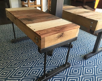 BENCH...Rustic Bench...Re Bar Legs...Brass Welding...Furniture...Made to Order...Industrial