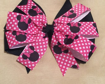 "6"" Minnie Mouse Bow"