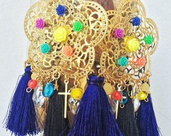 Maxi earring handmade