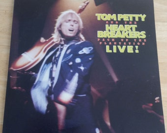 Tom Petty and the Heart Breakers - Pack Up The Plantation - Live! - MCA2-8021 - 1985 - 115 gram - NM!