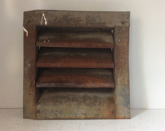 Vintage Industrial Rusty Wall Vent
