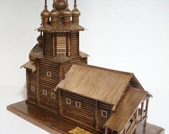 Original Chapel Kizhi island, Russia