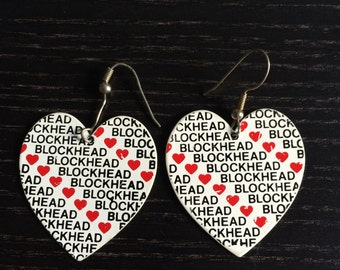 Blockheads earrings
