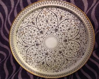 Vintage Venetian reproduction cake plate