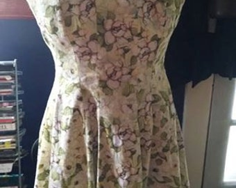 Vintage Dogwood Blossom Summer Dress!