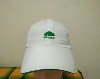 Rare Vintage ELLESSE Cap Hat Free size fit all