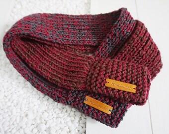 Knitted muffler Etsy